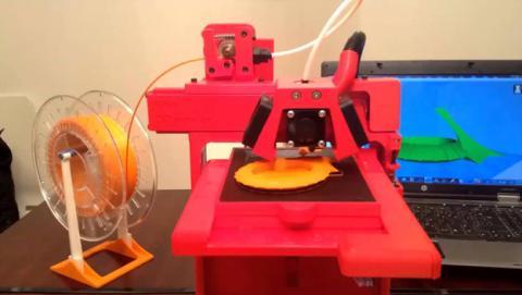 ULIO, la impresora 3D que puede imprimir otras impresoras 3D