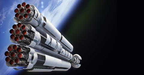 Motores de la próxima generación de cohetes de SpaceX