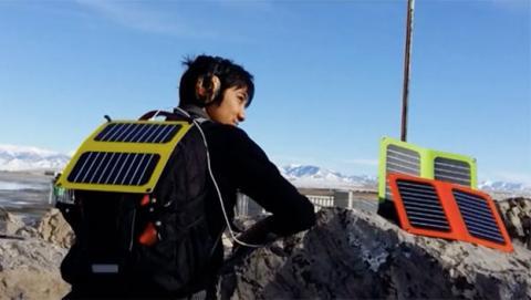 cargador solar móvil