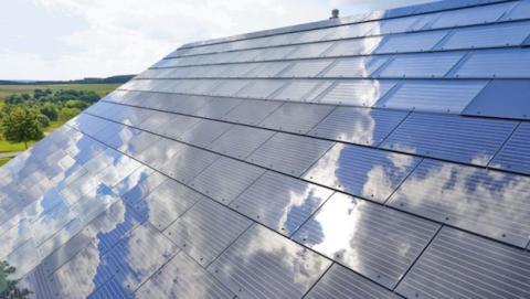 SolarCity planea techos hechos de paneles solares