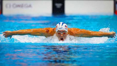 Michael Phelps | Imagen: Getty Images vía USA Swimming
