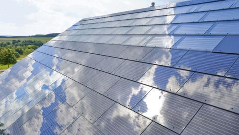 Tejas solares de SolarCity