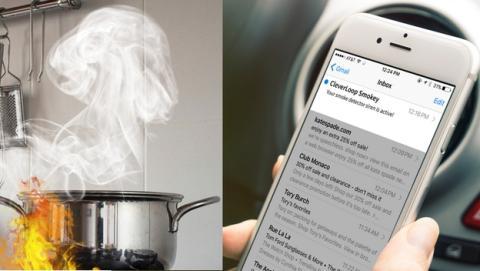 Smokey, la app que transforma tu viejo móvil en un detector de humos