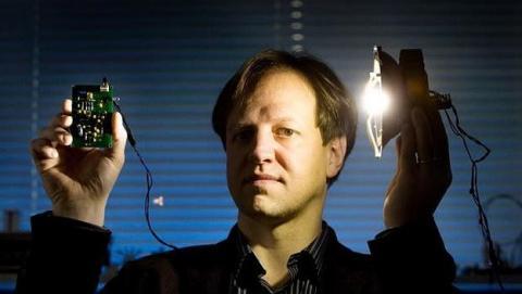 Un rayo de luz LED transmite datos a 2 Gbps a través de Li Fi