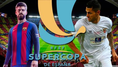 Barcelona Sevilla Supercopa 2016 online por Internet