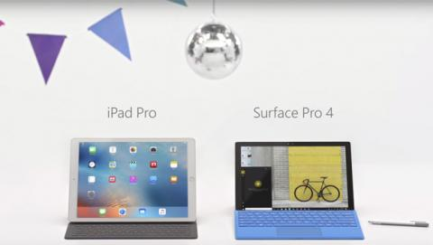 Surface vs iPad Pro