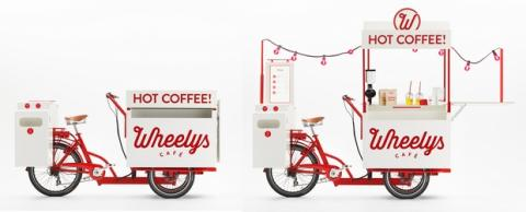 Wheelys, la bicicleta para vender café
