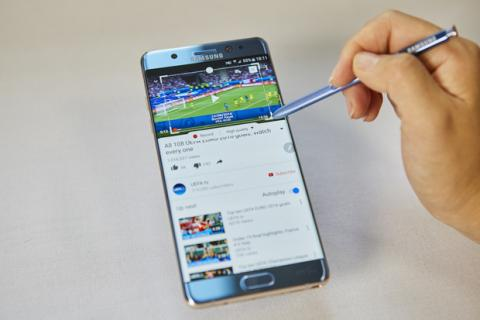 Precios del Samsung Galaxy note 7 con Vodafone