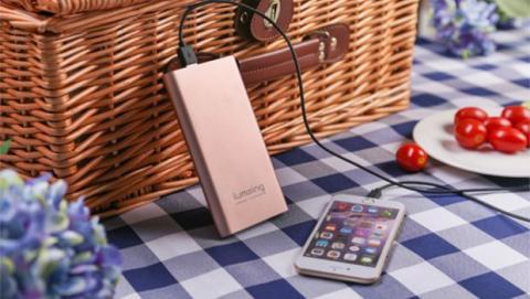 Las baterías externas Lumsing Pilot 4GS están disponibles en tres acabados: oro rosa, dorado y plateado