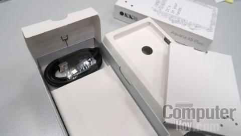 bq Aquaris X5 Plus cargador test
