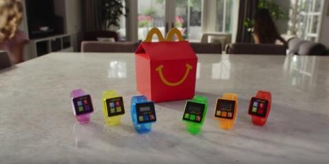 McDonalds retira su pulsera de fitness para niños