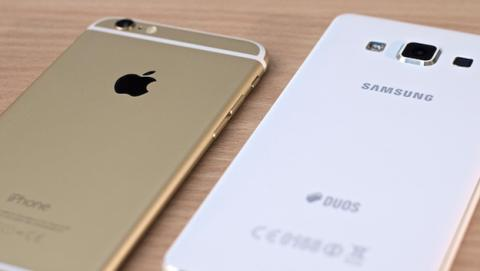 iPhone y Samsung Galaxy