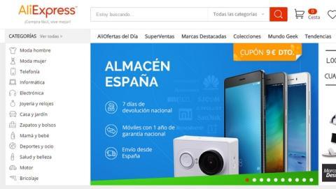 AliExpress estrena la garantía de sustitución de móviles en España