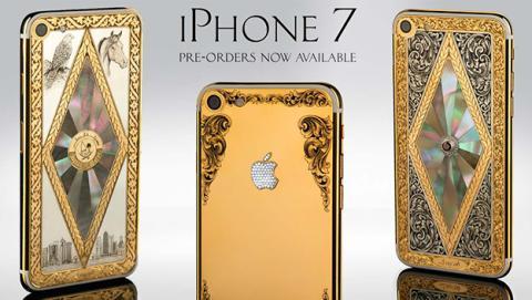 iPhone 7 de oro