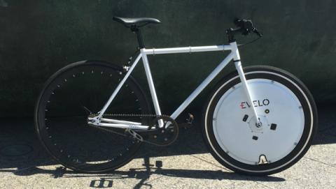 La rueda que convierte tu bici normal en una bicicleta eléctrica