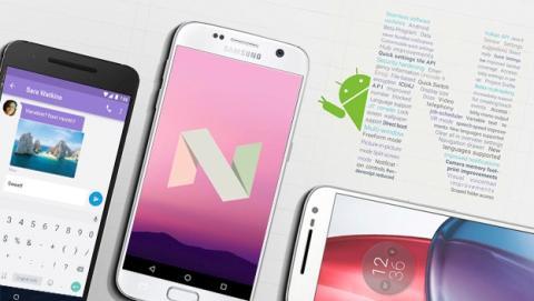Android 7.0 Nougat ya está aquí, estas son sus novedades