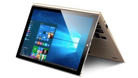 El hardware de estos portátiles convertibles acostumbra a alojarse tras la pantalla cuando el dispositivo permite separarse del teclado.
