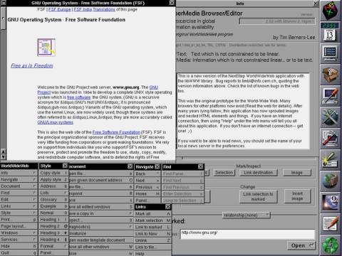 Las páginas web cumplen 25 años