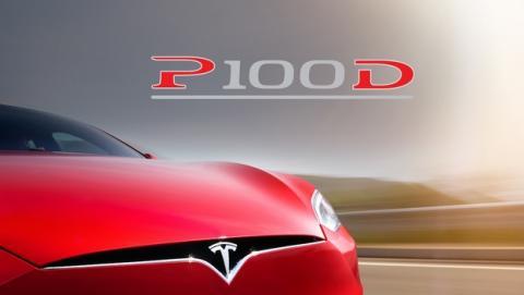 El nuevo coche eléctrico Tesla S P100D ya acelera como un Ferrari