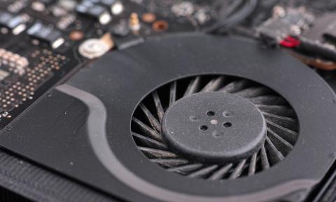 Imagen del ventilador de un portátil