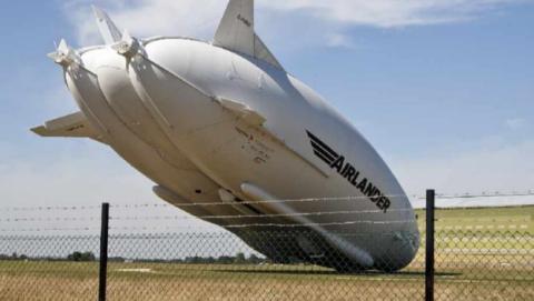 Se estrella el Airlander 10, el dirigible más grande del mundo