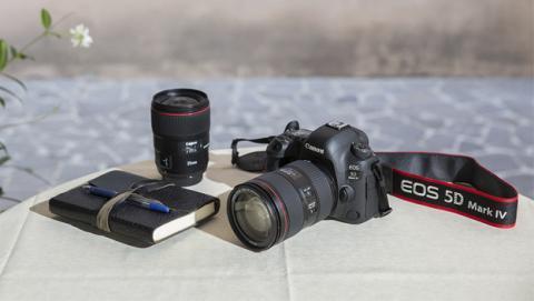 Nueva Canon EOS 5D Mark IV para profesionales