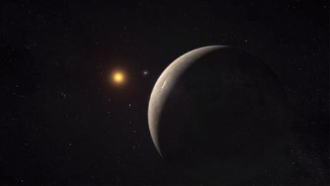 Imagen del nuevo planeta | Fuente: SEO