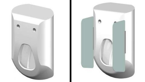 Este urinario inteligente limpia y seca el pene en seis segundos