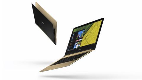 Acer presenta su nueva gama de portátiles ultrafinos