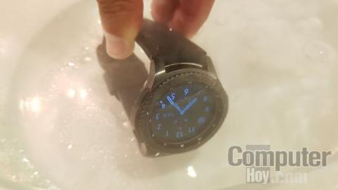 Samsung Gear S3 agua