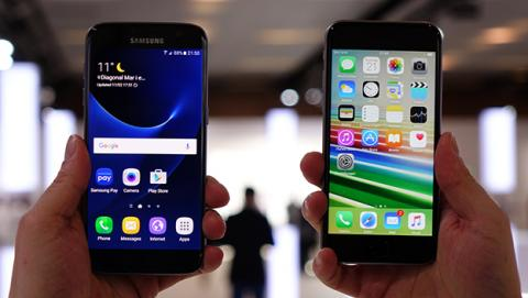 Samsung Galaxy vs iPhone 6s