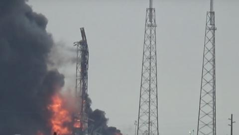 Piden compensación a SpaceX por la explosión de su cohete