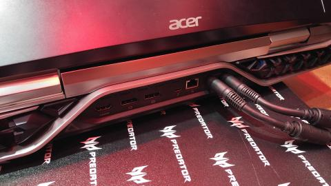 Imagen trasera del Acer Predator 21 X