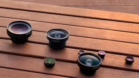 Mejora la calidad de tus fotos con lentes para tu smartphone