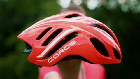 Coros LINX, un casco de ciclismo inteligente con bluetooth