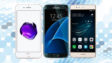 iphone 7, comparativa iphone 7, iphone 7 vs galaxy s7, iphone 7 vs huawei p9
