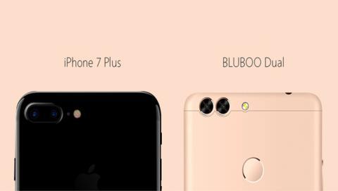 Bluboo Dual, doble cámara trasera como la del iPhone 7