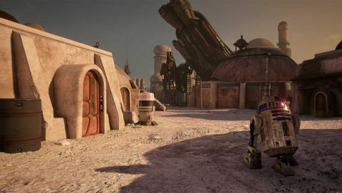 Ya puedes descargar la recreación más real de Mos Eisley de Star Wars