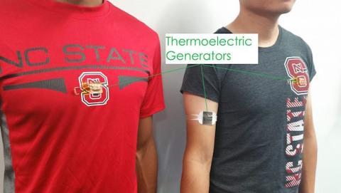 Nueva tecnología convierte calor del cuerpo en electricidad