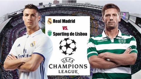 Dónde ver online y en directo el Real Madrid vs Sporting Lisboa de Champions por Internet