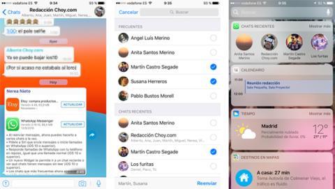 Novedades de la actualización de WhatsApp para iOS