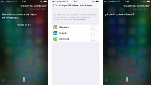 Siri se integra en WhatsApp gracias a la última actualización