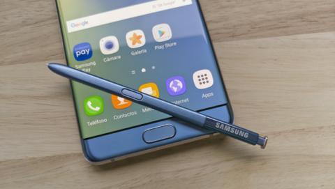 Aumentan los problemas con las baterías del Galaxy Note7