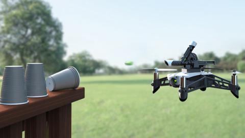 Parrot Drones swing mambo