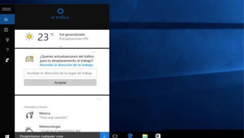 Cortana, tu asistente personal por voz