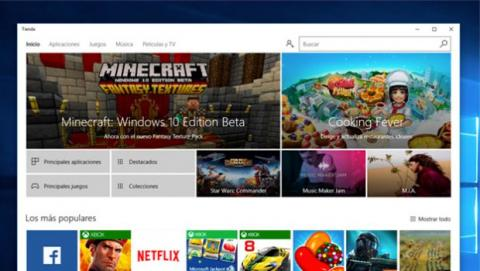 Tienda de Windows 10, mucho más que apps y juegos