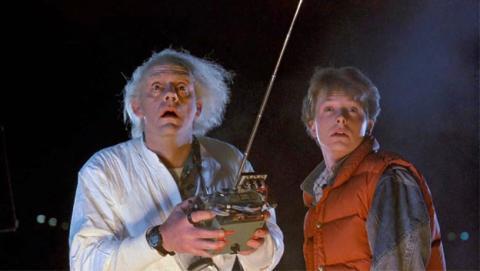 Marty McFly y Doc