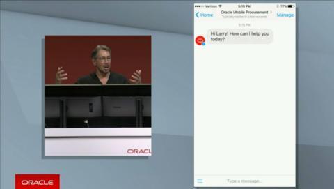 Oracle desarrolla una plataforma de chatbots para empresas