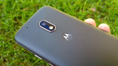 Imagen de la parte trasera del Moto G4 play