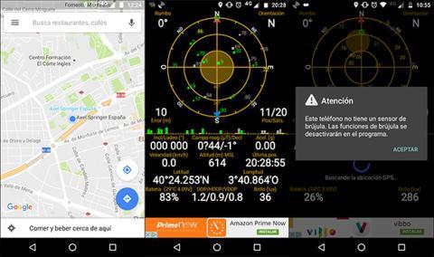 Imagen del GPS del Motorola Moto G4 play